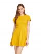 合身裙攞短袖連身裙