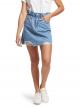 紙袋型高腰牛仔短裙